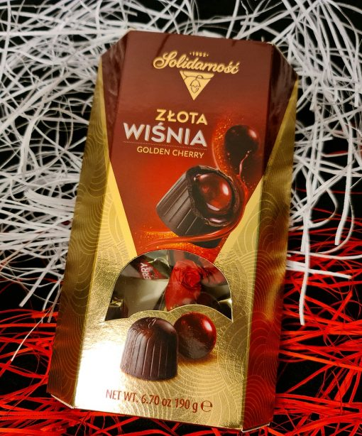 Gold Cherry Chocolates