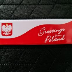 Greetings from Poland Fridge Magnet